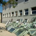 Műanyag ablak beépítés iskolában