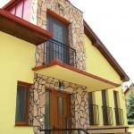 Színes műanyag ablakok budapesti családi házban