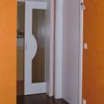 Falba tolható mdf beltéri ajtó fehér színben
