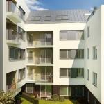 Ablakbeépítés új társasházban